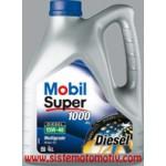 Mobil Super 1000 X1 Dizel 15W-40 4LT